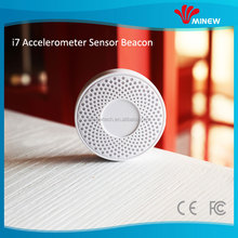 Wireless accelerometer beacon smart sensor tag