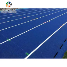 Factory direct sale 13 mm tartan running tracks and epdm color rubber granule