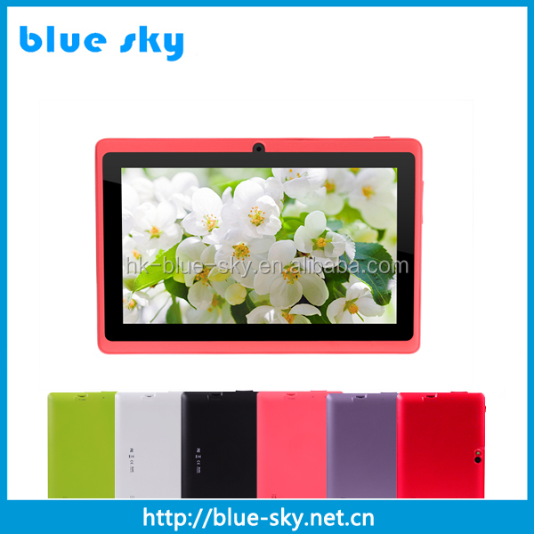 "Sale! 7"" Inch Quad Core Android 4.4 Tablet PC Allwinner Dual Cameras 512mb 8GB Capacitive Touch Screen 1.5GHZ WIFI 7"" Tablet Pc"