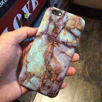 2016 hot sale super amazing reality IMD marble tpu phone case for iphone 6/6s