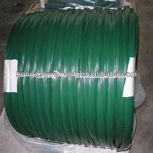 PVC Coated galvanized Wire/M.S. wire coating PVC/tie wire pvc coated