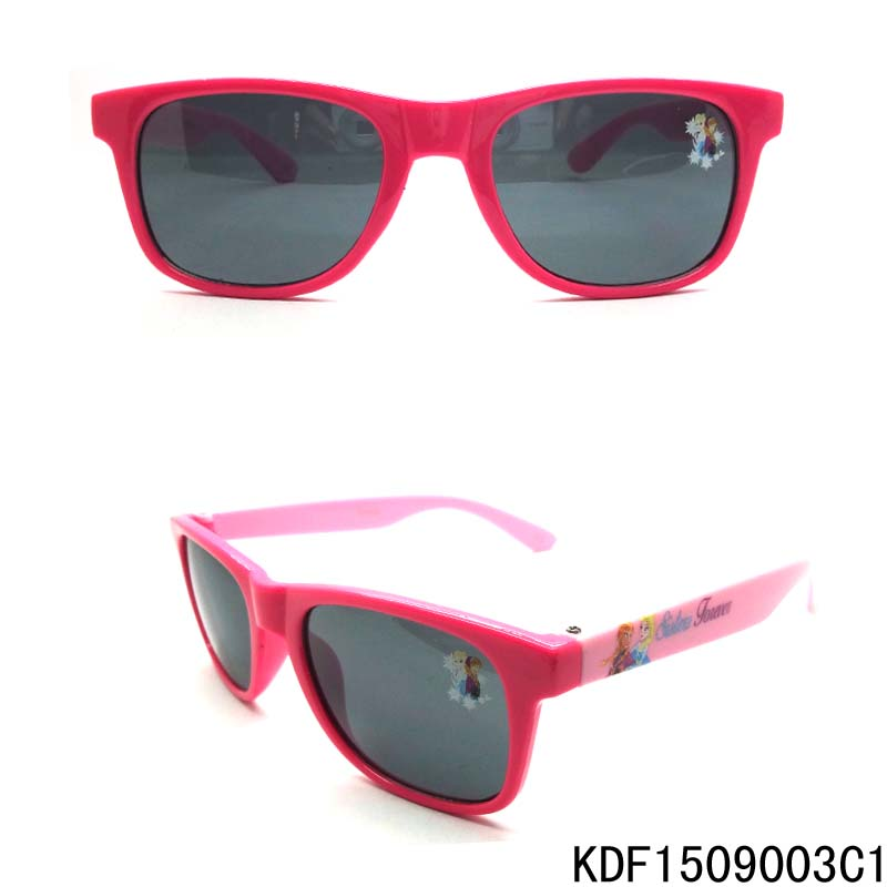 FJ brand customize your own kids sunglasses fashion girls frozen plastic sunglass child free sample sunglasses