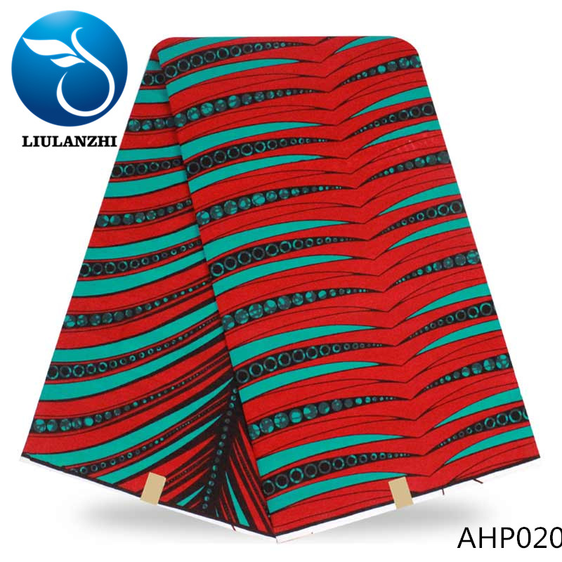 LIULANZHI african fabric hottest ankara fabric wax print wholesale africa fabrics wax 100% <strong>cotton</strong> AHP020