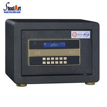 Whole steel material high quality fireproof hotel and home safe
