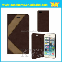 detachable wallet leather case for iphone 6, leather case for huawei ascend g8, flip leather case for lg e400 optimus l3