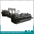 Factory customized fast adjust paper folding gluing machine