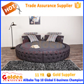 Modern bedroom furniture designs king size round bed cheap price for sale 6823