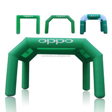 Customized made various outdoor promotion inflatable arch