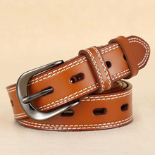 personality Women's Leather Jean Belts