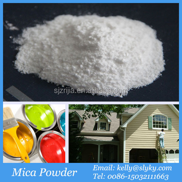 Paint and Coating Raw Material Mica Muscovite Mica Price