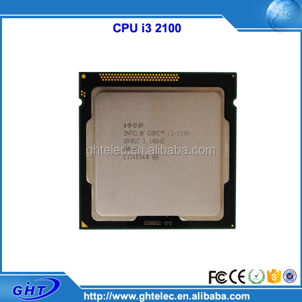 Hot selling 3.1GHz lga1155 socket used cpu processor-i3 2100