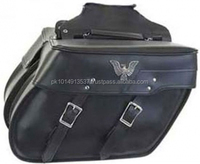 ( Super Deal ) BPB-1600-5 Genuine Leather Saddle Bags, Custom leather Saddle Bags for bikes