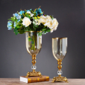 Best selling Modern glass flower vase