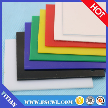 Factory Price 1mm Clear Color HIPS Plastic High Impact PS Polystyrene Sheet / Plate / Blocks