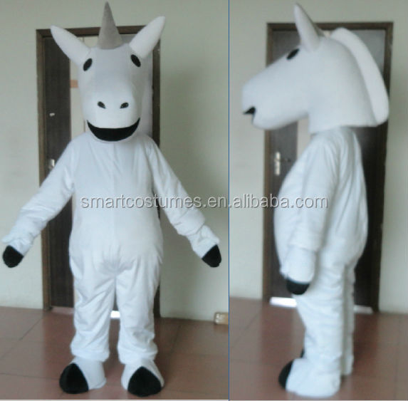 hot sale cheap adult unicorn mascot costume