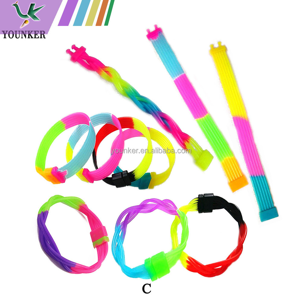 wholesale assorted designs silicon bracelet