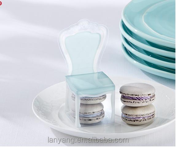Victoriaanse plastic stoel gunst box bruiloften baby douche en bruids douche verpakking dozen - Baby douche ...