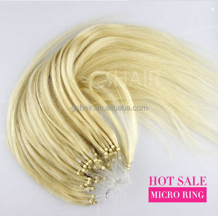 2016 new arrival 100% cheap remy micro loop hair extensions