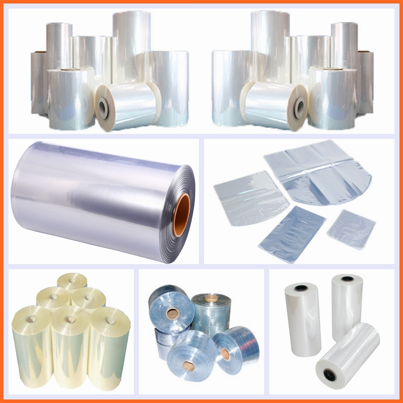 Hot Selling Pvc Heat Shrink Bags Thermo Shrink Film