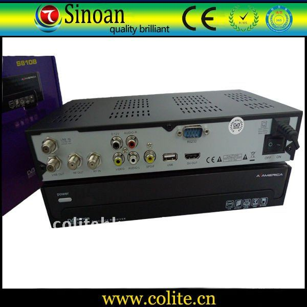 Upgrade Az America S810b Receiver with Twin Protocols, Dongle Decode Nagra3