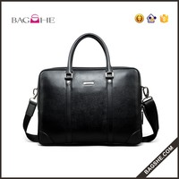 Cheap Price Durable Genuine Leather Laptop Bag for Men