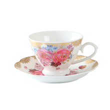 YDY porcelain turkey market modern wholesale fine bone china coffee tea cup and saucer ceramic tea coffee cup set