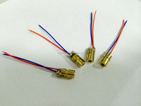 Mini 650nm 6mm 5mW 3V Red Laser Dot Diode Module