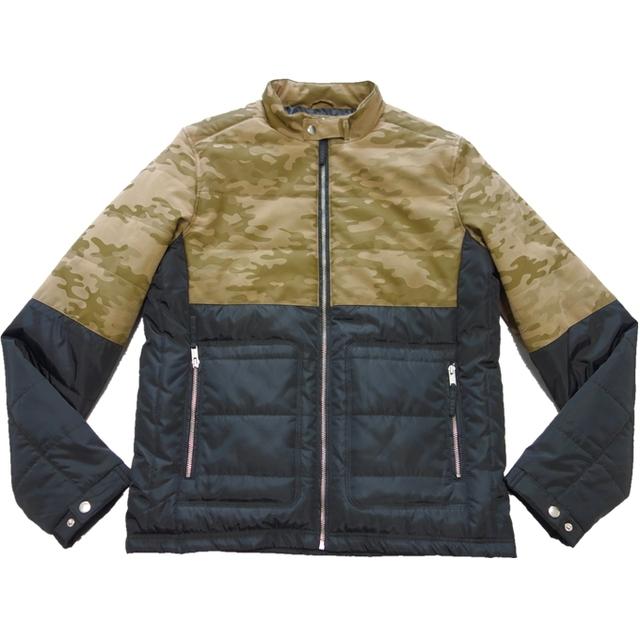 wholesale winter camouflage khaki men fabric polyester jacket