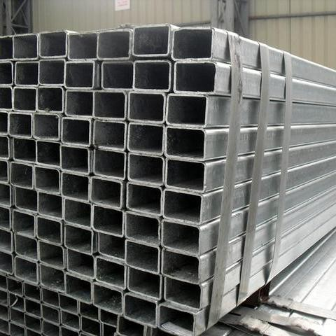 Q235 Galvanized Square Steel Pipe Square tube Rectangular tube