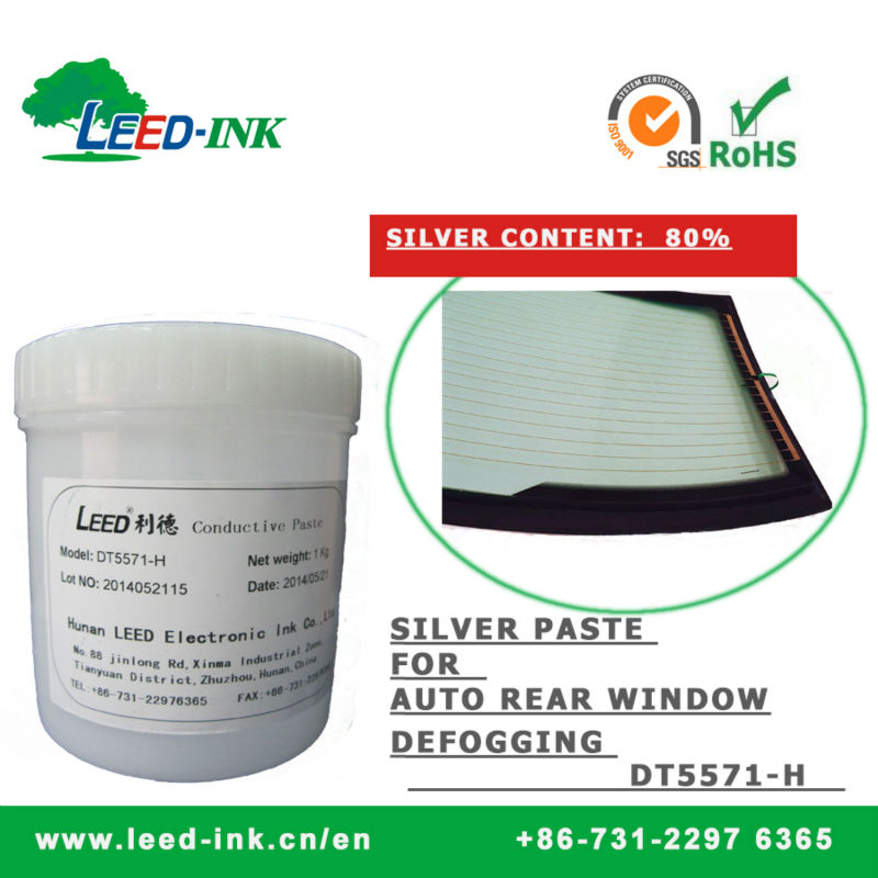 Conductor Silver Paste For Vehicle Rear Window Defogging (DT5571-H)