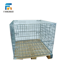 Reliable quality steel wire mesh pallet storage cages