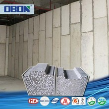 OBON CE certificated light weight brick face eps foam wall board panels