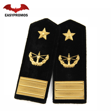 Customized High Quality Military Badge Shoulder Pilot Epaulettes For sale
