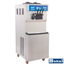 home icecream roll machine with middle capacity