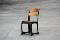 Truimph Vintage Industrial Metal Chair , antique outdoor dining chairs/ metal chair used for restaurant in china