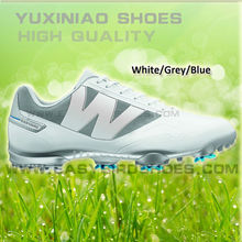 original brand name golf shoe for male, high top golf shoe for female sport, mens colorful golf shoes with spike for business