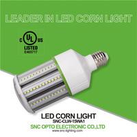 China wholesale ul led lamp 2016 e26 AC100-277V residential energy saving led corn light bulb 15w