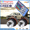 Infrared control led marker rgb color change led angel eyes for bmw E39 E53 E60/E61 E63/E64 E65/E66 E87 X3