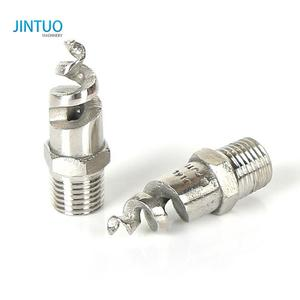 Factory wholesale spiral jet nozzle detachable full cone jet spray nozzle swivel joint adjustable spray nozzle