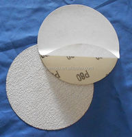 100MM No holes Self adhesive PSA aluminium oxide abrasive discs for furniture and wood
