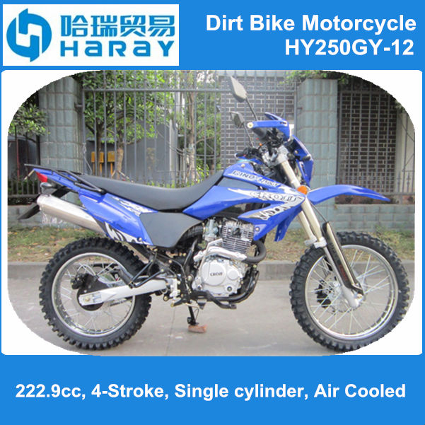 Popular in Brazil, 250cc motorcycle! Dirt Bike Motorcycle HY250GY-12