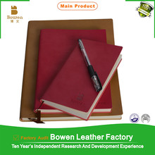 BOWEN - 0031 high quality brand leather organizer / new leather cover business organizer cover / organizer in tan color