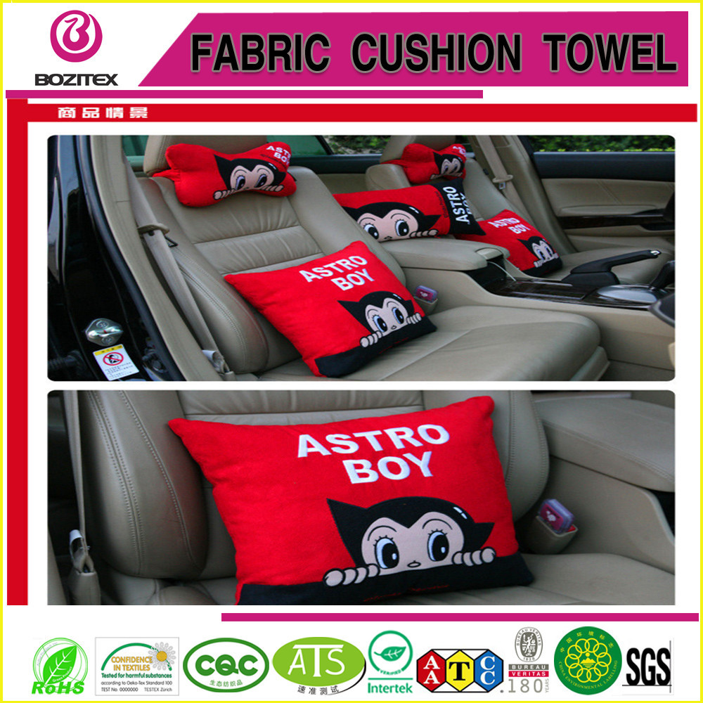 suede fabric car seat cushion