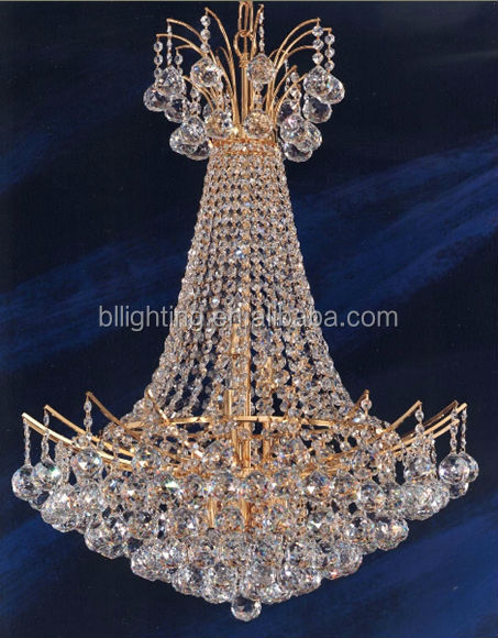 Purple crystal chandelier color made in China