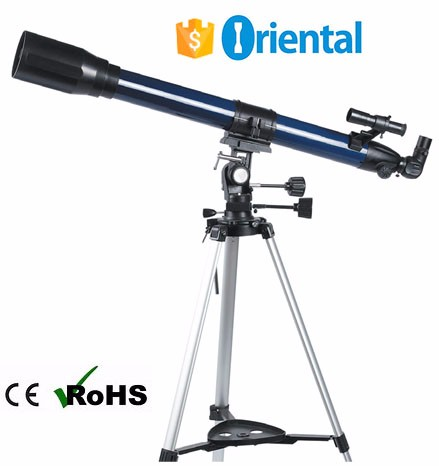 Sports Sky Telescope #FT70900Q,Outdoor Telescope Stainless Steel Tripod Paper Packaging Box Alibaba China Supplier