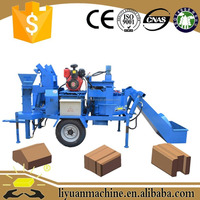 Specialized manufacturing plant hydraform m7mi super twin brick making machine in Namibia two pcs one time
