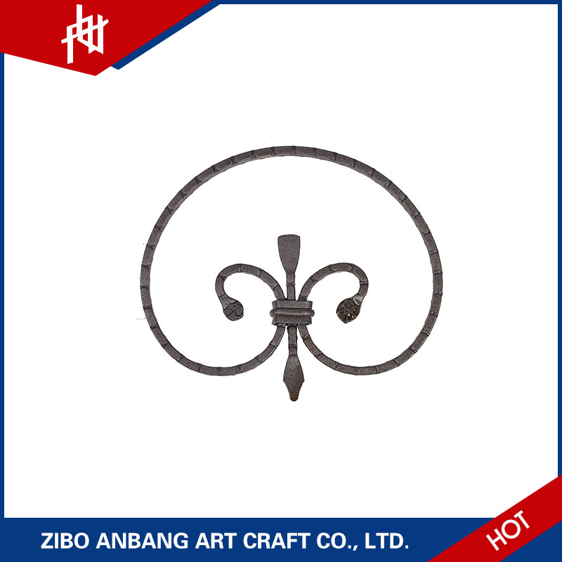 Cheap latest balusters wrought iron scroll