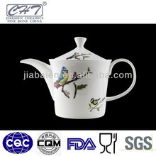A072 Fine bone china ceramic big porcelain teapot