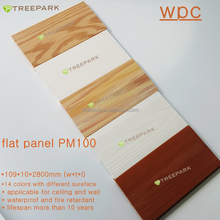 Eco friendly products wood grain WPC wall panel