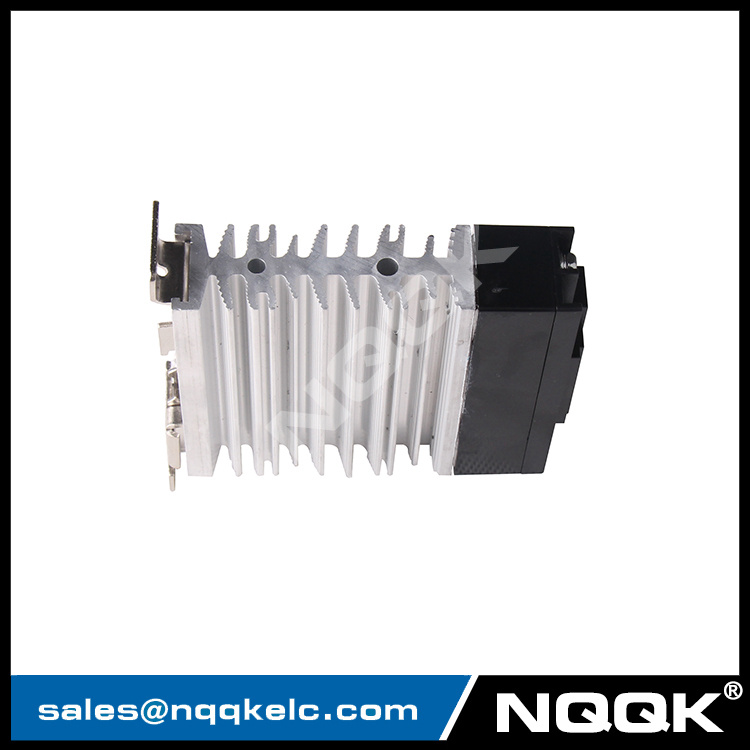 AC/DC 10A 40A led single phase slim solid state relay with heat sink